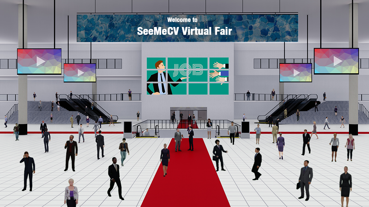 For Virtual Events Platform for Career & Employment Fairs